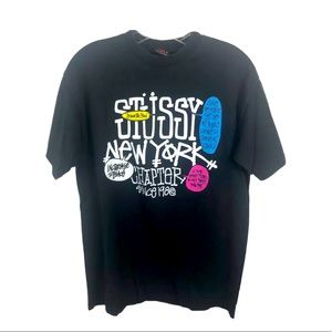 STUSSY New York Chapter Vintage T-Shirt Small